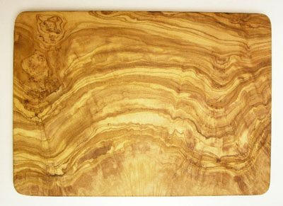 オリーブの木のまな板、オリーブウッドカッティングボード長方形大サイズ PLC_G3_106