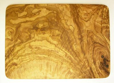 オリーブの木のまな板、オリーブウッドカッティングボード長方形大サイズ PLC_G3_112