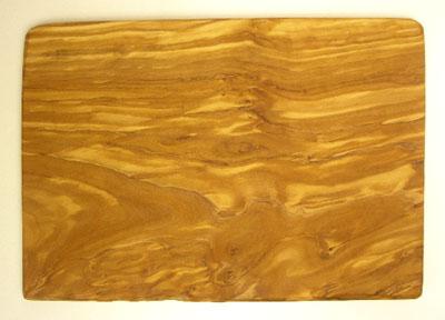 オリーブの木のまな板、オリーブウッドカッティングボード長方形大サイズ PLC_G3_126