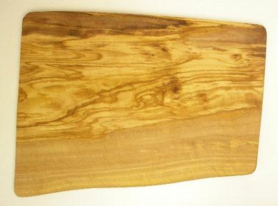 オリーブの木のまな板、オリーブウッドカッティングボード長方形大サイズ PLC_G3_128