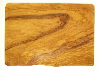 オリーブの木のまな板、オリーブウッドカッティングボード長方形大サイズ PLC_G3_130