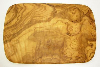 オリーブの木のまな板、オリーブウッドカッティングボード レクト小サイズ PLC_RECT03