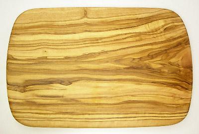 オリーブの木のまな板、オリーブウッドカッティングボード レクト小サイズ PLC_RECT04