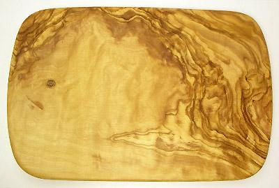 オリーブの木のまな板、オリーブウッドカッティングボード レクト小サイズ PLC_RECT07