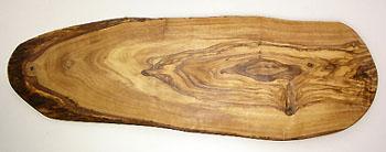 オリーブの木のまな板、オリーブウッドカッティングボード RUSTIQUE変形 PLC_RSTQ20