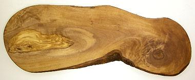 オリーブの木のまな板、オリーブウッドカッティングボード RUSTIQUE変形 PLC_RSTQG09