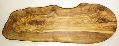 オリーブの木のまな板、オリーブウッドカッティングボード RUSTIQUE変形 PLC_RSTQG11