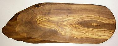 オリーブの木のまな板、オリーブウッドカッティングボード RUSTIQUE変形 PLC_RSTQG15