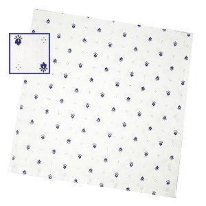 プロヴァンスALL OVER テーブルナプキン(カリソン・ホワイト×ブルー)SER_A06【フランス】
