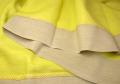 リネン麻プロヴァンステーブルクロス160×260cmサイズ(NUANCE・ティユール×ナチュラル)【フランス】 NAP_25_146