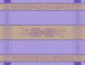 プロヴァンステーブルクロスジャガード織りテフロン撥水加工(グリニャン・ラベンダーブルー)全5サイズ【フランス】 NAP_25_349e_LVD