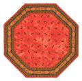 8角形オクトゴナルフレームテーブルマット38×38cmサイズ(Marat d'Avignon マラダヴィニョン トラディション・ルイユ) 【フランス】TP_OCT38::他サイズお取り寄せ可能
