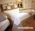 マリネットMARINETTE  ブティBOUTIS キルトベッドカバー、ベッドスプレッド240×260cmサイズ(ANAIS・アイボリー×ナチュラル)CVR_BT_LIT01
