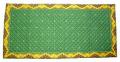 プロヴァンス柄キルトテーブルランナー37×75cmサイズ  Marat d'Avignon マラダビニョン(古典柄・グリーン×イエロー)CHM_T05  【フランス】