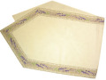 6角形フレームテーブルランナー45×150cmサイズ(ラベンダー2007・ナチュラル)CHM_14  【フランス】
