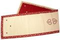 ジャガード織テーブルランナー32.5×140cmサイズ(プティクール)ノルディック柄 CHM_22 【フランス】