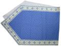 6角形フレームテーブルランナー45×150cmサイズ(エストレル・ブルー)CHM_P36 【フランス】