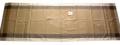 ジャガード織りテフロン撥水加工テーブルランナー50×150cmサイズ(モノグラム・ベージュ)【フランス】CHM_JCQ01