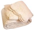 マリネットMARINETTE  ブティBOUTIS キルトベッドカバー、ベッドスプレッド 180×260cmサイズ(ODELINE・アイボリー)CVR_BT_LIT16