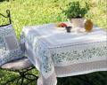 クッションカバージャガード織り Luberon リュベロン オリーブ柄 45×45cmサイズ【フランス製】 HOU_C61