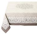 テーブルクロス:マルチカバージャガード織り(AUBRAC オブラック 花柄・全3色)全2サイズ【フランス】NAP_C85