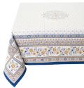 テーブルクロス:マルチカバージャガード織り(MAZAN マザン 花柄・全2色)全2サイズ【フランス】NAP_C87
