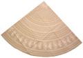 ラウンド・円形テーブルクロス撥水加工丸テーブル円卓用直径160cmサイズ(タマリス・リネン)【フランス】NAP_R181e
