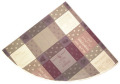 ラウンド・円形テーブルクロス丸テーブル円卓用ジャガード織りテフロン撥水加工直径180cmサイズ(ワインラベル/ソムリエ・パープル)【フランス】NAP_R191e