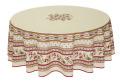 ラウンド・円形テーブルクロス撥水加工丸テーブル円卓用直径180cmサイズ Marat d'Avignon マラダヴィニョン(アヴィニョン・オフホワイト)【フランス】NAP_R202e