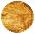 オリーブウッドのプレート(丸皿) ASS_OLV27