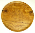 【 OUTLET 】 オリーブウッドのプレート(丸皿)27cm ASS_OLV27_PRM2
