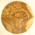 オリーブの木のピザプレート直径30cmサイズ【フランス】オリーブウッド木製 PIZ_22