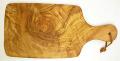 オリーブの木のまな板、オリーブウッドカッティングボード AモデルPLC_A45