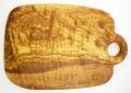 オリーブの木のまな板、オリーブウッドカッティングボード Cモデル PLC_C63