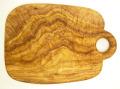 オリーブの木のまな板、オリーブウッドカッティングボードCモデル PLC_C82