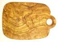 オリーブの木のまな板、オリーブウッドカッティングボードCモデル PLC_C83