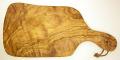 オリーブの木のまな板、オリーブウッドカッティングボードEモデル PLC_E23