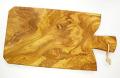オリーブの木のまな板、オリーブウッドカッティングボード Fモデル PLC_F03