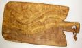 オリーブの木のまな板、オリーブウッドカッティングボード Fモデル PLC_F11