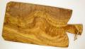 オリーブの木のまな板、オリーブウッドカッティングボード Fモデル大サイズ PLC_FG04