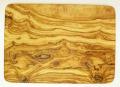 オリーブの木のまな板、オリーブウッドカッティングボード長方形大サイズ PLC_G3_108