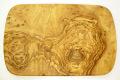 オリーブの木のまな板、オリーブウッドカッティングボード レクト小サイズ PLC_RECT05