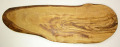 オリーブの木のまな板、オリーブウッドカッティングボード RUSTIQUE変形 PLC_RSTQ24