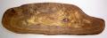 オリーブの木のまな板、オリーブウッドカッティングボード RUSTIQUE変形 PLC_RSTQG08