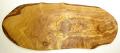 オリーブの木のまな板、オリーブウッドカッティングボード RUSTIQUE変形 PLC_RSTQG19