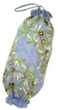 プロヴァンス柄ビニール袋・レジ袋ストッカー(オリーブ2005・ブルー) SAC_S54