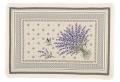 ジャガード織りプレイスマット(CASTILLON カスティヨン・全2色)【フランス】 ラベンダー柄 SET_LX41