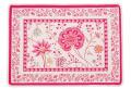 ジャガード織りプレイスマット(MONTESPAN モンテスパン・全2色)【フランス】 花柄 SET_LX43