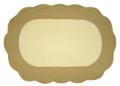 マリネットMARINETTE ブティBOUTISオーバルプレイスマット 37/51cm(CESAR・アイボリー×ナチュラル) SET_BT10