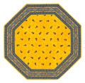 8角形オクトゴナルフレームテーブルマット38×38cmサイズ(Marat d'Avignon マラダヴィニョン トラディション・イエロー) 【フランス】TP_OCT12::他サイズお取り寄せ可能